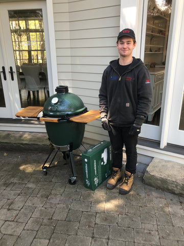 Big Green Egg Large Egg - ALHD | Stop by Barbecues Galore and let us help you get fired up in time for summer.  Check out any of our 5 stores: Burlington, Oakville, Etobicoke & Calgary