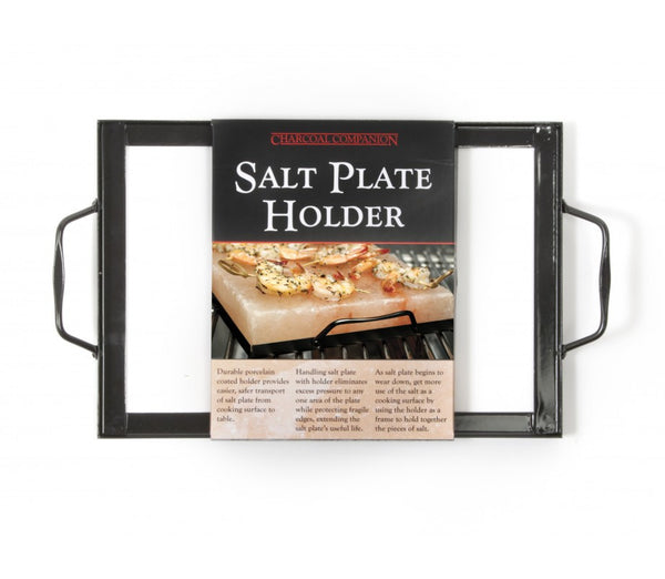 CHARCOAL COMPANION SALT PLATE HOLDER