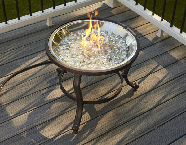 Outdoor Greatroom Crystal Fire Tripod Firepit