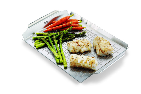 WEBER STAINLESS STEEL GRILLING TRAY