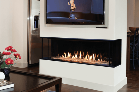 Valor LX2 3-Sided Gas Fireplace