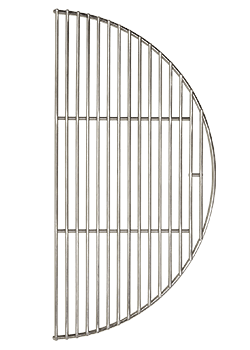 Kamado Joe Half Moon Stainless Steel Cooking Grate for Classic Joe