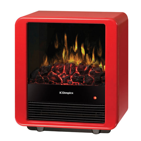 Dimplex Cube Electric Mini Stove - DMCS13R | Electric Fireplaces
