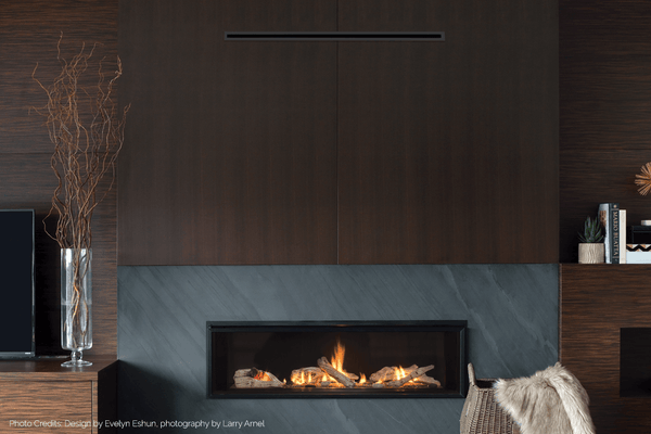 Valor L2 Zero Clearance Linear Gas Fireplace Barbecues