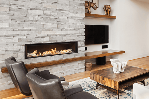 Valor L3 Linear Gas Fireplace | Valor Fireplaces | Barbecues Galore
