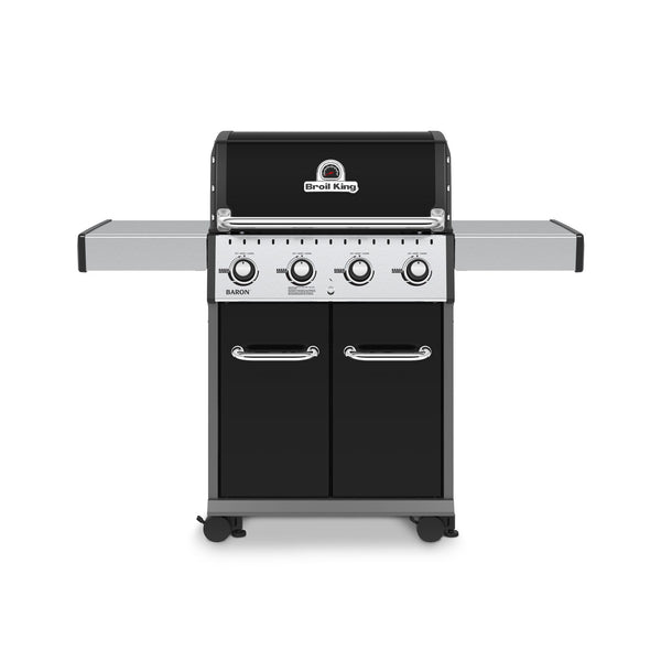Perfect for summer grilling, The Broil King Baron 420 Special Edition - Natural Gas | Barbecues Galore: Burlington, Oakville, Etobicoke & Calgary