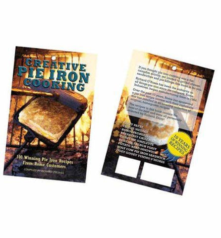 Creative Pie Iron Cooking Cookbook | Barbecues Galore