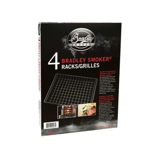 Bradley Smokers Set Of 4 Extra Racks - BT4XR | Barbecues Galore