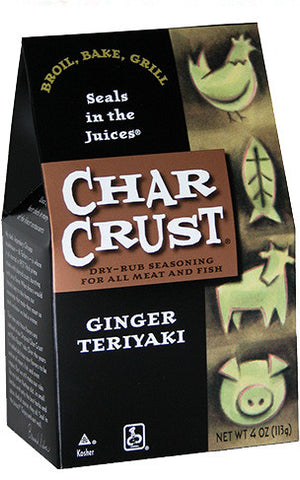 Char Crust Seasonings - Ginger Teriyaki