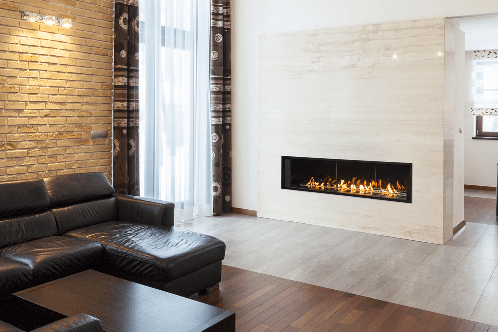 Gas Fireplace linear gas fireplace : Gas Fireplaces | Barbecues Galore