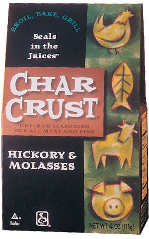 Char Crust Seasonings - Hickory & Molasses