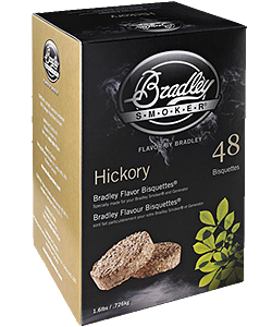 Hickory Flavoured Bradley Bisquettes