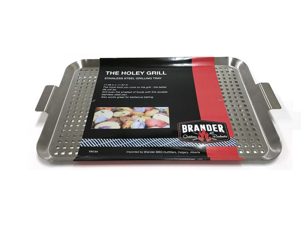 Brander Stainless Steel Perforated Grill Pan
