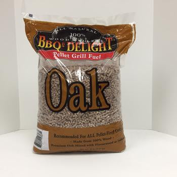 BBQr's Delight Oak Wood Pellets - 20 lb