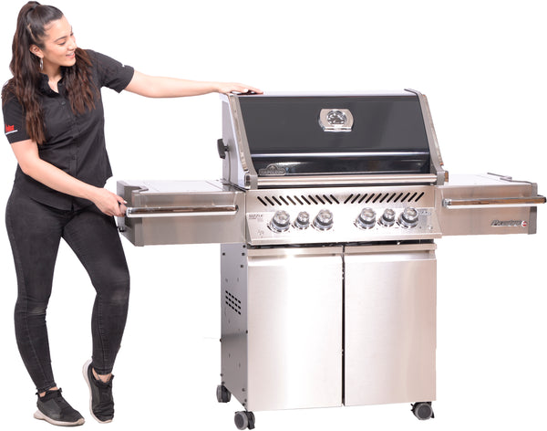 Napoleon Prestige PRO500RSIB Special Edition – Natural Gas Grill | A BBQ made for summer grilling with a ton of heat and upgrades | Barbecues Galore: Calgary, Alberta and in Ontario in Burlington, Oakville & Etobicoke