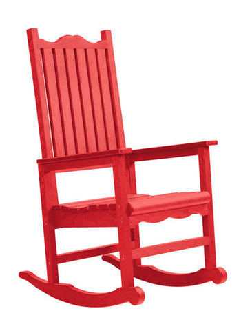 CRP Porch Rocker Chair - Red