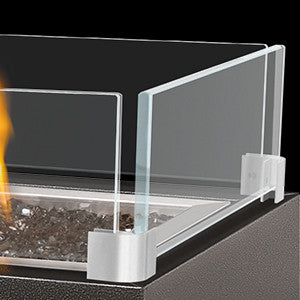 "Napoleon Patio Flame Glass Wind Screen - 48"" Square Tables"