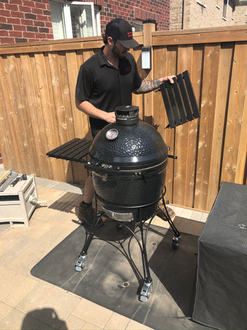 Kamado Joe Classic Joe II - Black (Exclusive)