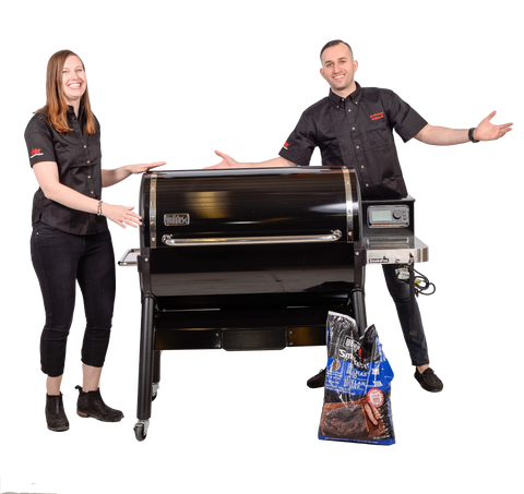 Weber SmokeFire EX6 Pellet Grill | Summer bbqs with friends and family are about to get a serious upgrade | Barbecues Galore: Calgary, Burlington, Etobicoke & Oakville
