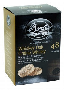 Whiskey Oak Bradley Bisquettes