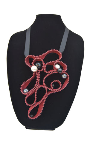 Zipper Necklace 18