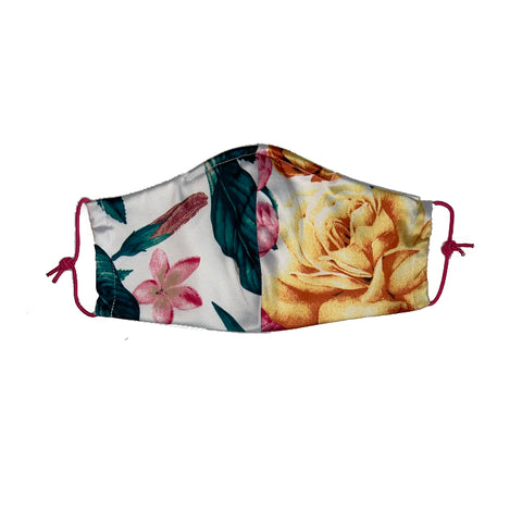 Women's Floral Mask 8