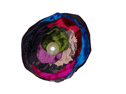 Multi Coloured Brooch