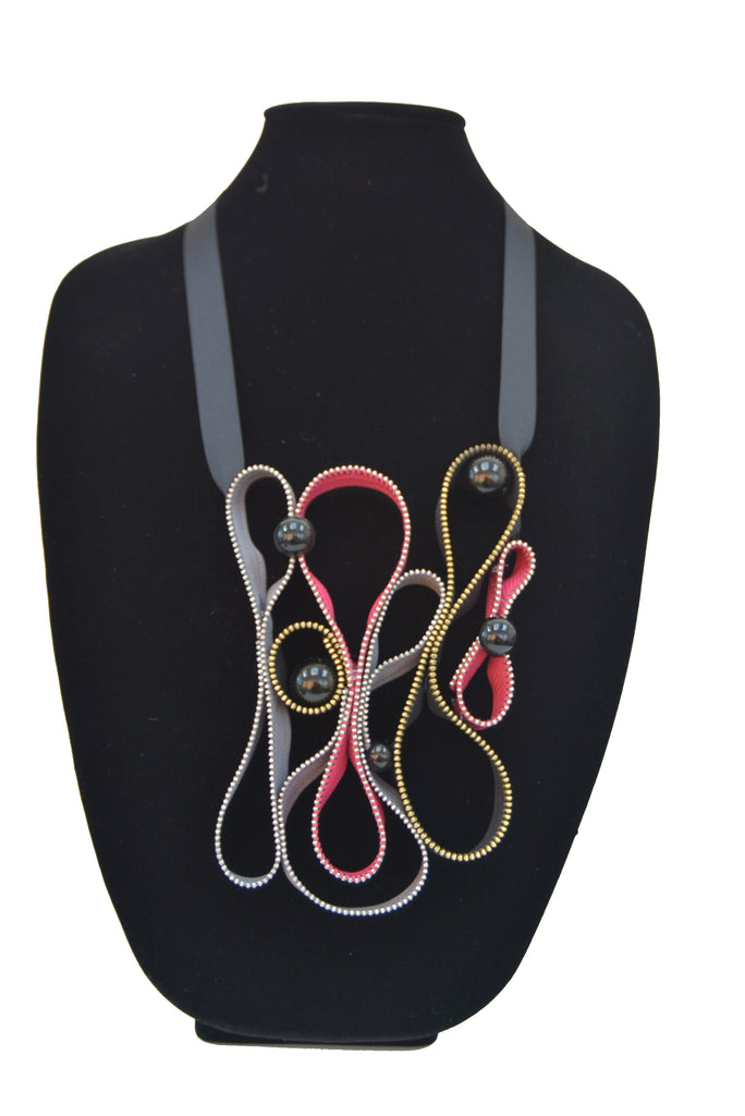 Zipper Necklace 14