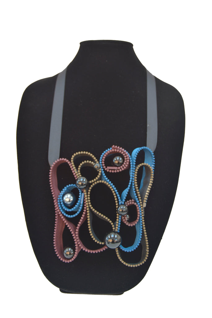 Zipper Necklace 4