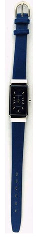 Black Rectangular Strip Watches : 1285-BK