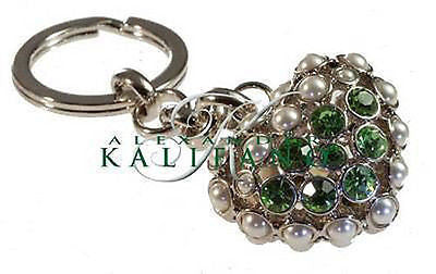 Fashion Costume Jewelry Beautiful Classic Heart Key Chain SKC-025