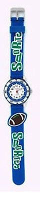 Cute Fashion Costume Jewelry Navy Football Kids Watch : CH-78-NV - All Fashion Jewelry