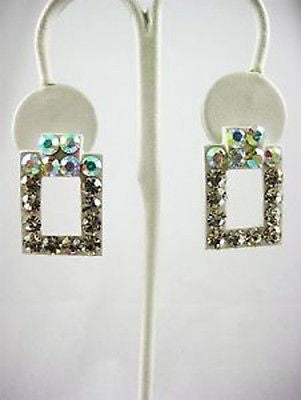 Fashion Costume Jewelry Fun Classic Crystal Earrings 2101 Crystal AB