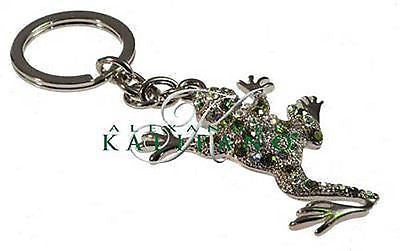 Fashion Costume Jewelry Classic Frog Crystal Key Chain SKC-036