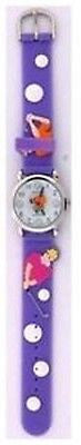 Fashion Costume Jewelry Cute Fun Golfer Kids Watch : CH-95-PPL - All Fashion Jewelry