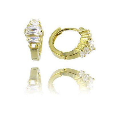 Fashion Costume Jewelry Elegant Gold and Crystal Gold Layered Earrings 02180006