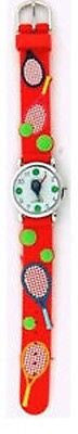 Fashion Costume Jewelry Cute Fun Tennis Kids Watches : CH-96-RD - All Fashion Jewelry