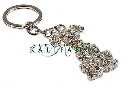Fashion Costume Jewelry Classic Happy Dog Crystal Keychain SKC-019