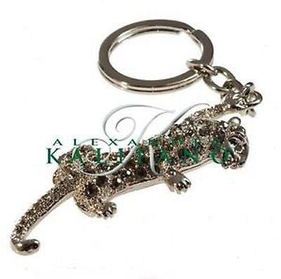Fashion Costume Jewelry Classic Jaguar Crystal Key Chain SKC-039
