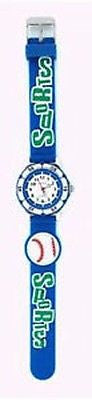 Fun Fashion Costume Jewelry Grand Baseball Kids Watch : CH-80-RD - All Fashion Jewelry