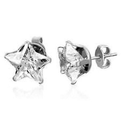 Fashion Costume Jewelry Star Shaped Stud Earrings EST4005