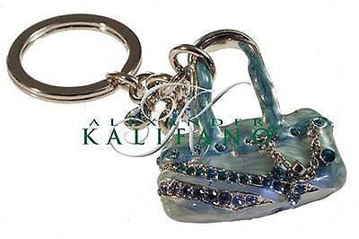 Beautiful Classic Fashion Costume Purse Swarovski Crystal Keychain SCK-010