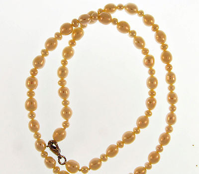 "Fashion Costume Jewelry Chunky Long 16"" Pearl  Necklace : AKN5455-WO"