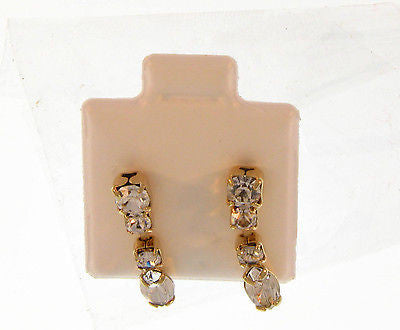 Simple Stylish Gold Layered Earings Stud : 02121566