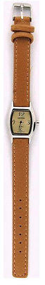 Casual Feminine Sport Mini Face Fashion Strap Watch : 3035-TAN