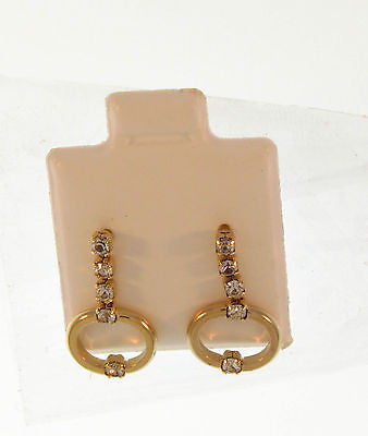 Simple Stylish Stud Gold Layered Earrings 02121576