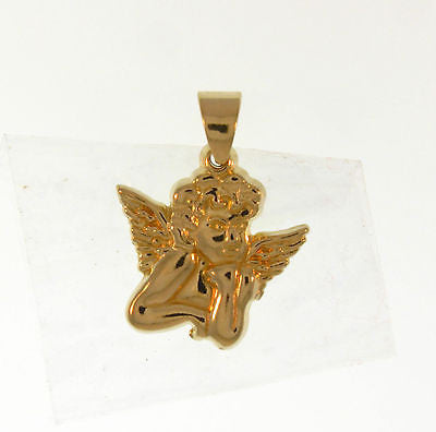 Beautiful Fashion Costume Jewelry Angel Gold Layered Pendant : 05160041 - All Fashion Jewelry