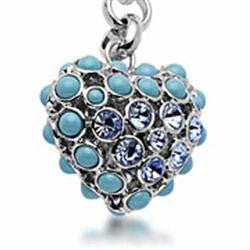 Fashion Costume Jewelry Beautiful Classic Heart Key Chain SKC-029