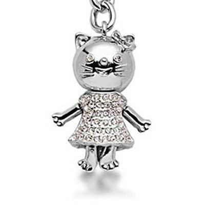 Beautiful Catwoman Fashion Costume Jewelry Swarovski Crystal Keychain SCK-006