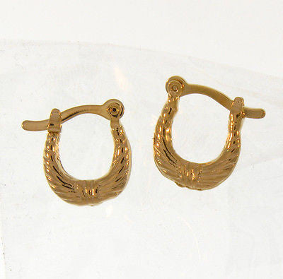 Simple and Stylish Gold Layered Earrings 02160024